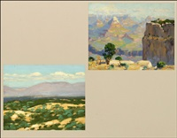 grand canyon (+ desert vista; 2 works) by ferdinand kaufmann