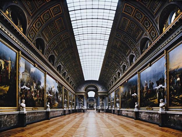 galerie des batailles 148 anr 02002 aile du midi 1er etage versailles by robert polidori