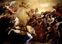 the triumph of apollo by francesco (da gubbio) allegrini