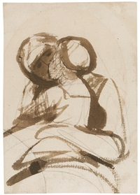 study of a mother and child by george romney