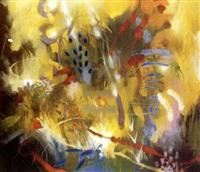 viento amarillo y semilla rosa by carlos jacanamijoy