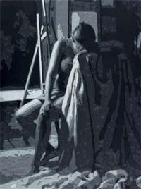 iskemledeki kadın by mustafa karyagdi