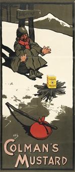 colman's mustard/to klondike by john hassall