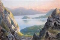 bords de lac by giovanni battista