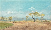 peisaj de primăvară by dimitrie mihailescu