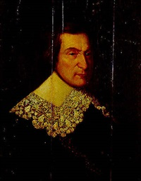 portrait of a gentleman in a lace collar by abraham de vries