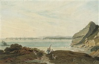 the torbay fleet lying off bloxham (+ others; a collection) by william henry pyne