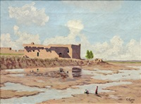 a rio grande pueblo by carl eytel