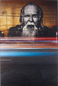 carl in silverlake, vertical from the series wrinkles of the city: los angeles by jr