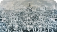 the worship of bacchus (the drinking customs of society) by charles mottram and george cruikshank