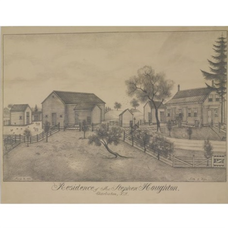 residence of mr stephen houghton charleston ny by fritz g vogt