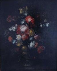 bouquet de fleurs dans un vase by margherita caffi