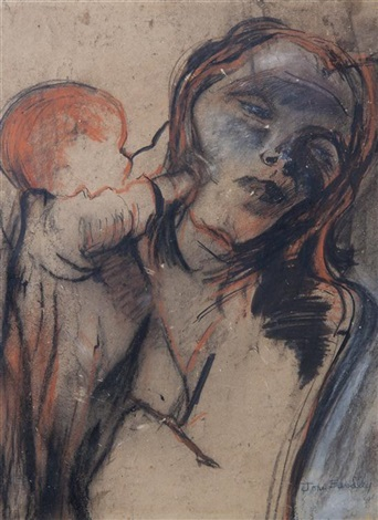 mother and child by joan kathleen harding eardley