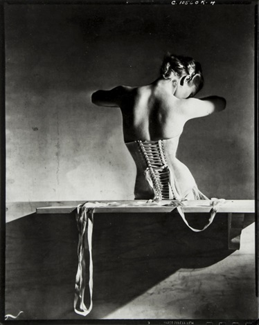 mainbocher corset vogue paris by horst p horst