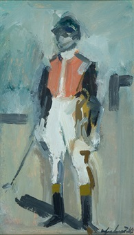 jockey by orfeo locatelli