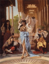 in the harem by f. santos