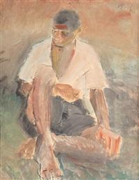 muncitor în repaus by alexandru phoebus