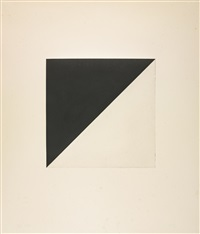 the concorde series: three prints (a. 195a, 197a and 200a) by ellsworth kelly