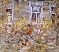 jardin fleuri by v. kadatskov