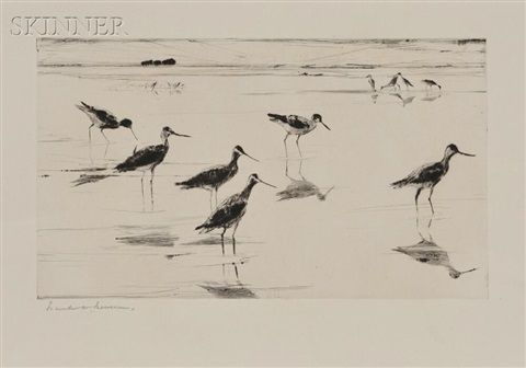 waders by frank weston benson