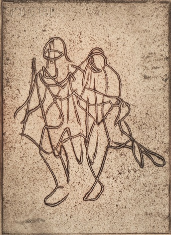 companionship from salute to tobey by mark tobey