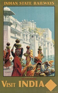 visit india - udaipur by william spencer bagdatopolous