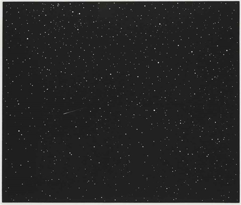 comet from skowhegan suite by vija celmins