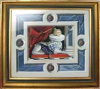 sphynx trompe l'oeil by martin battersby