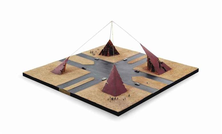 piramide della mente by arnaldo pomodoro