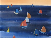 small boat race by colin d. graham