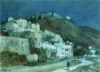moonlight, malaga by a. moulton foweraker