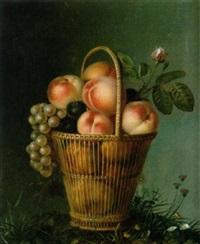 ein korb mit früchten by reys allais