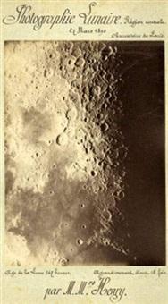 photographie lunaire, région centrale by freres henry