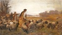 pásztor és nyája by ferenc (franz) markó