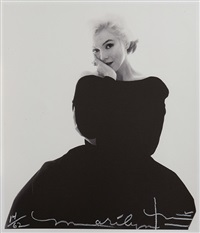 marilyn looking at you pour vogue, the last sitting by bert stern