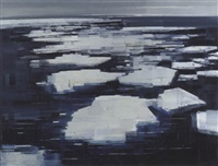 ice floes, hadley bay, weddell sea, antarctica by david smith