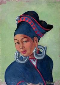 portrait thaï, femme phu noï by léa (madame) lafugie