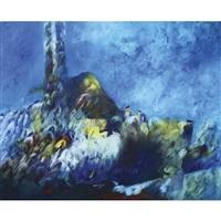 abstract composition by ekrem kadak