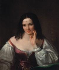 femminile ideale, la malinconia by natale schiavoni