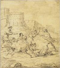 the punishment of dirce by leonard bramer