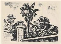 palmengruppe by karl schmidt-rottluff