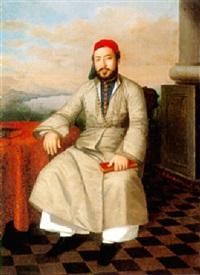 a gentleman in turkish attire by sandor alexander svoboda