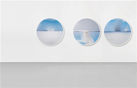 cul de sac set of 3 by doug aitken