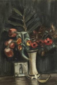 vase de fleurs by henri le fauconnier