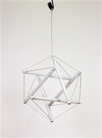 light structure hanging lamp by peter hamburger and ingo maurer