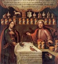 christus als apotheker by austrian school-vienna (18)