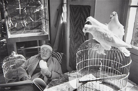 henri matisse vence france by henri cartier bresson