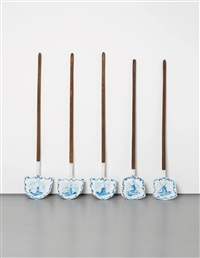 five delft shovels by wim delvoye