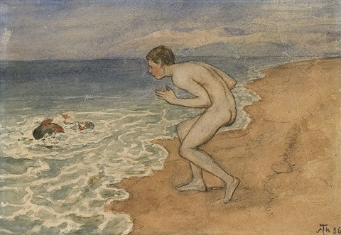 am strand by hans thoma