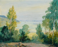 elbe near falkenstein by wilhelm battermann